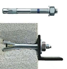 Анкер для установки в газобетонную стену