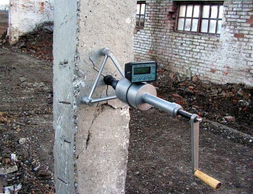 Анкерное устройство для испытания бетона