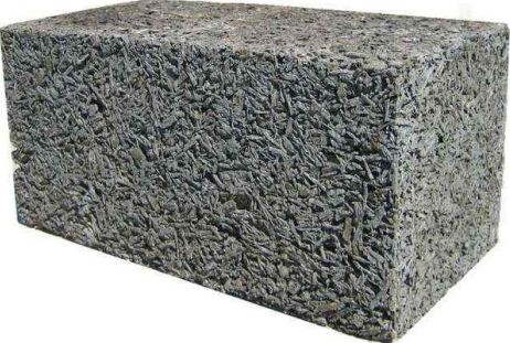 Арболитовый блок