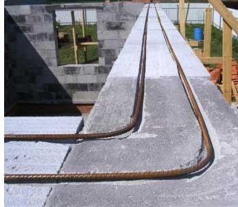 Армирование газоблоков