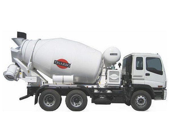 Авто-миксер наиболее эффективен для доставки бетона.