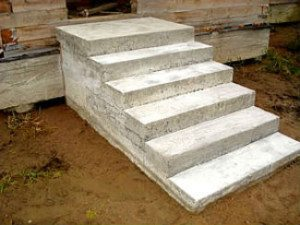 Бетонная лестница – прочная конструкция