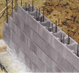 Бетонные блоки незаменимы при возведении ленточных фундаментов