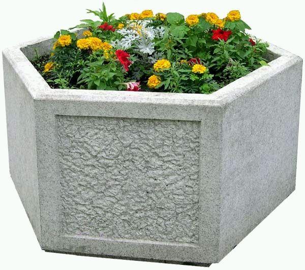 бетон цветочницы