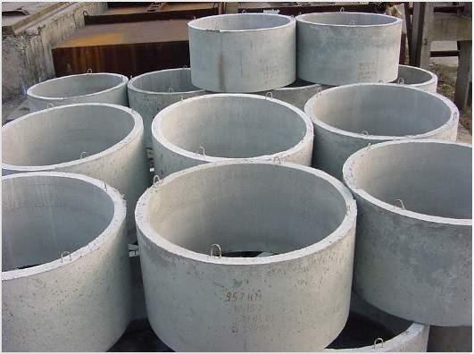 Бетонные кольца для изготовления колодцев