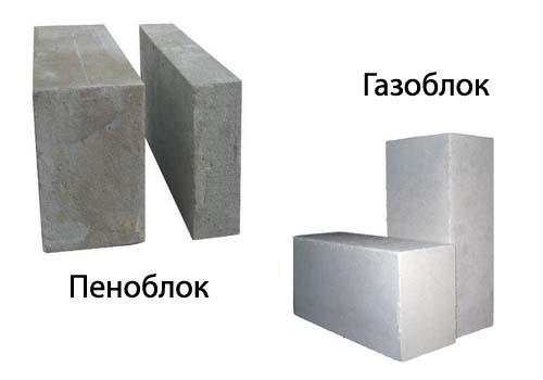 Блоки двух видов