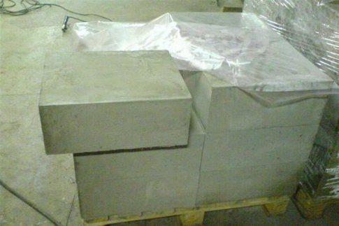 Блоки пенного материала
