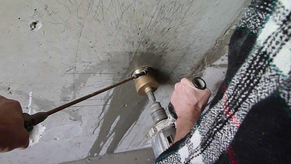 Алмазная коронка по бетону своими руками 33