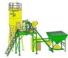 Быстроустанавливаемая бетоносмесительная установка