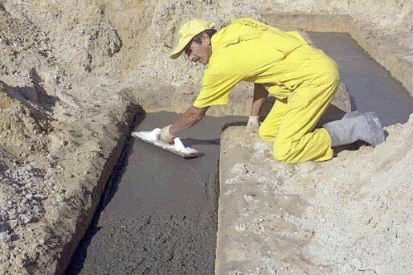 Когда бетон застывает бетон в литрах