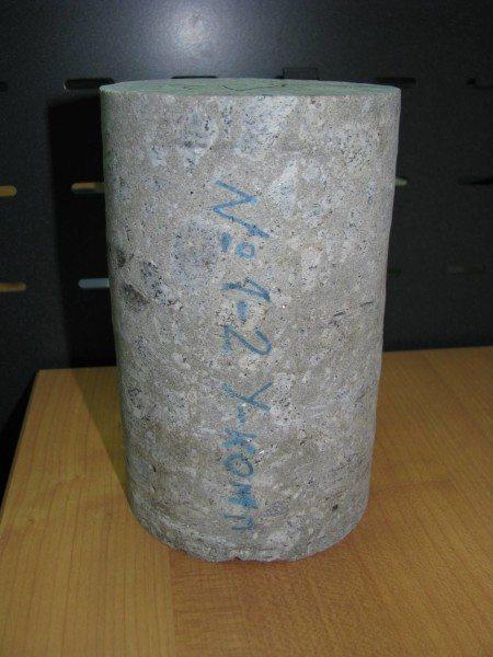 Чтобы получить керн, необходимо проводить бурение бетона