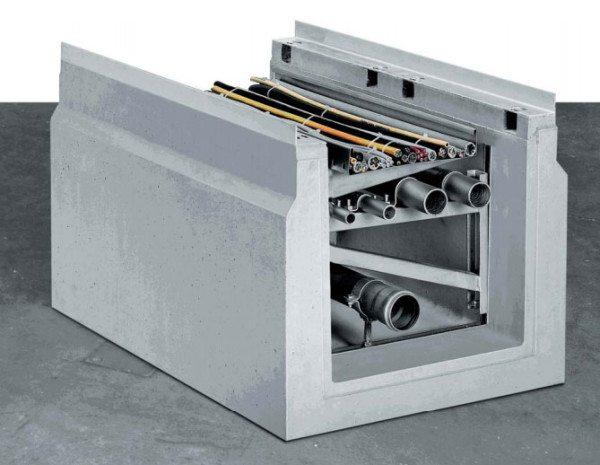 Чтобы защитить проводники, используют конструкции из прочного бетона