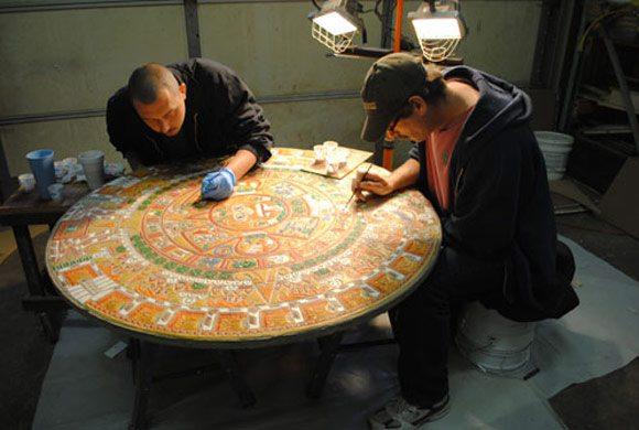 Даже в изготовлении мебели можно найти место данной технологии