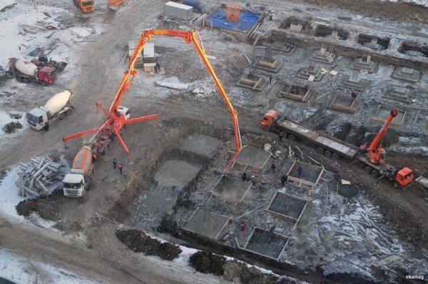 Для бетононасоса важна подвижность смеси.