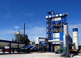 Для изготовления этого вида материала создают специальные заводы, которые работают только в этом направлении