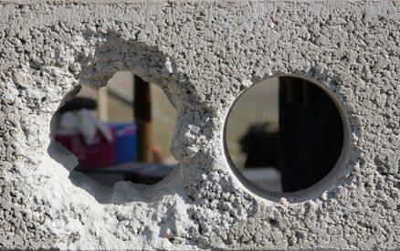 Для того чтобы провести через крышу коммуникационные линии, используйте алмазное бурение отверстий в бетоне