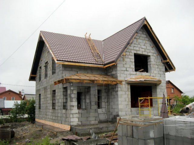 Фото строю дом своими руками