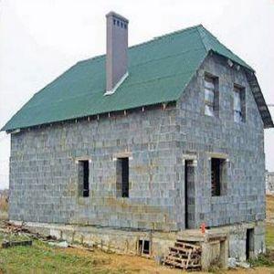 Дома из керамзитобетона намного легче, что позволяет не создавать слишком большое давление на почву