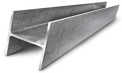 Двутавровая металлическая балка