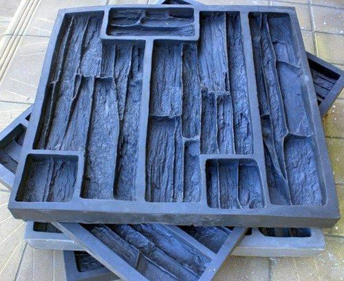 Эластичные формы для производства плитки с фактурой природного камня