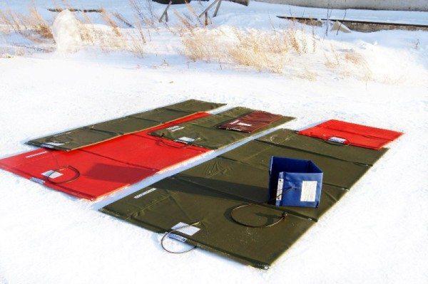 Электрическое одеяло для монолита.
