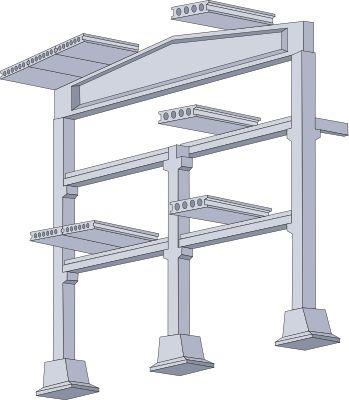Эскиз каркасной конструкции