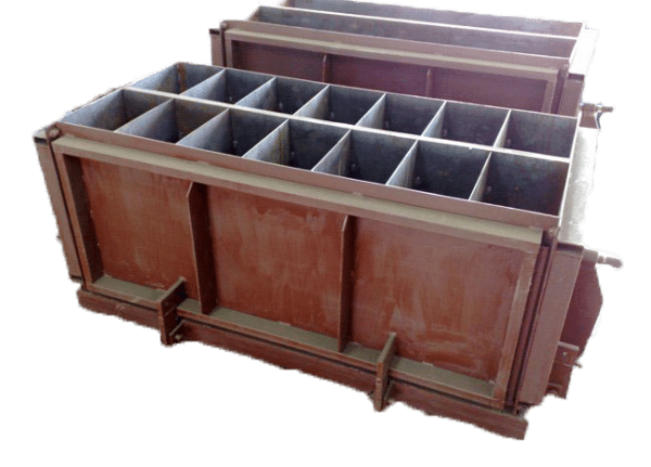 Форма для изготовления блоков подбирается в соответствии с необходимыми размерами