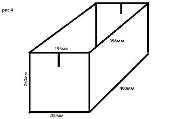 Форма может быть изготовлена из чего угодно, главное – чтобы материалы были плотными