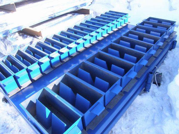 Формы для изготовления блоков