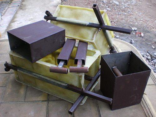Формы для изготовления блоков из бетона