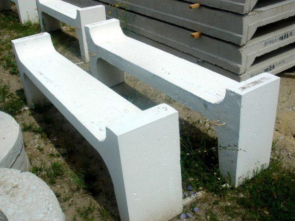 Формы для скамеек также являются частью бетонных изделий, предназначенных для благоустройства
