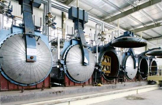 Фото автоклавов для производства газобетона