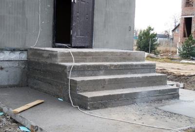 Фото бетонной основы.