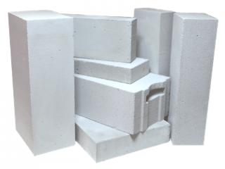 Фото блоков из газобетона.