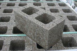 Фото блоков из керамзитобетона
