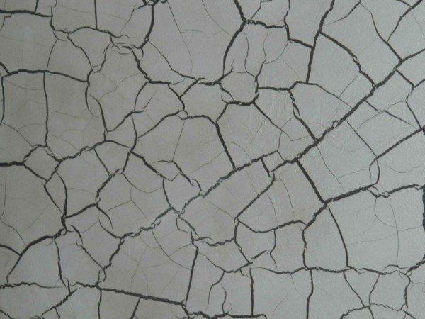 Фото демонстрирует эффект растрескивания цементного камня.