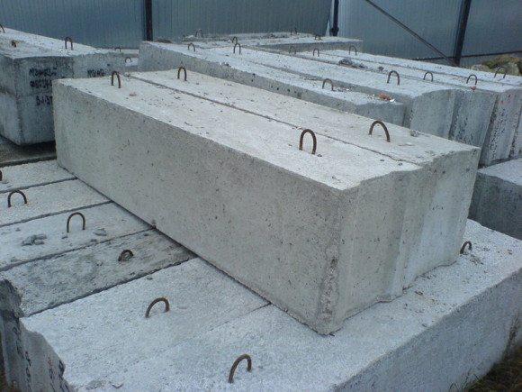 Фото фундаментных ЖБ блоков
