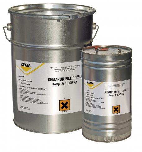 Фото контейнеров с полиуретановой смолой для проведения инъекций в бетон