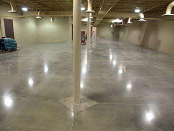 Фото одно из вариантов защиты бетона