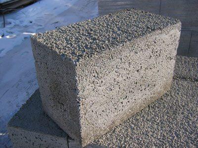 Фото полистиролбетонного блока
