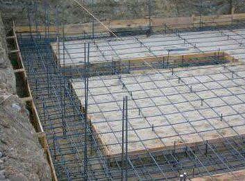 Фото заготовленной прогреваемой площадки под фундамент