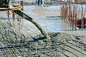 Фото заливки бетона марки М350