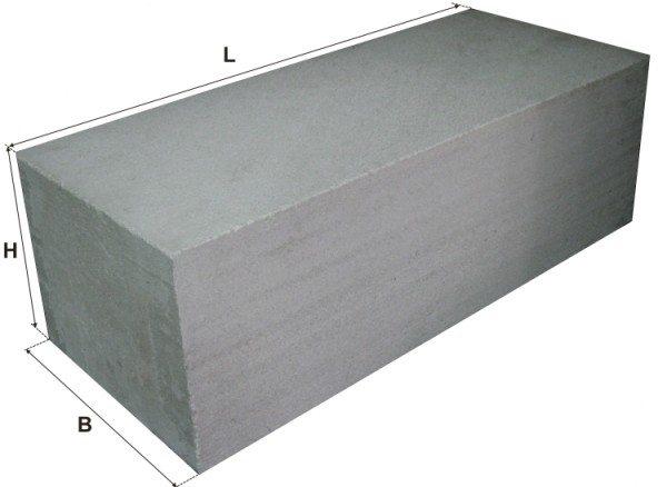 Газобетонный блок имеет точную геометрию