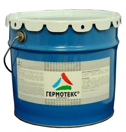 Гермотекс - мастика для швов в бетоне
