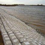 Гибкие защитные бетонные маты
