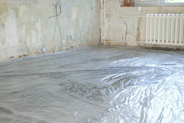Гидроизоляция бетонного основания