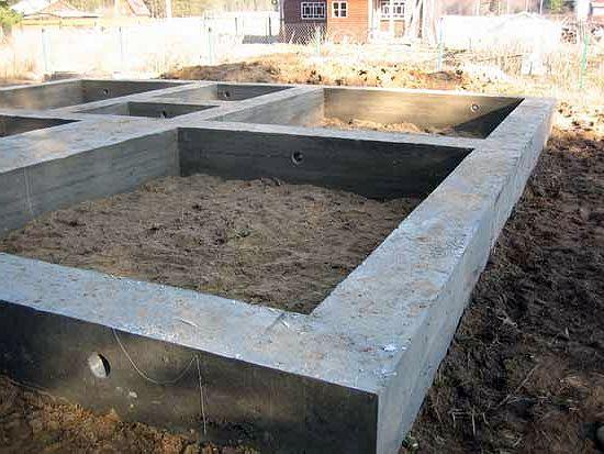 Глинистые грунты очень требовательны к составу бетона для фундамента.