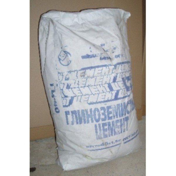 Глиноземистый цемент.