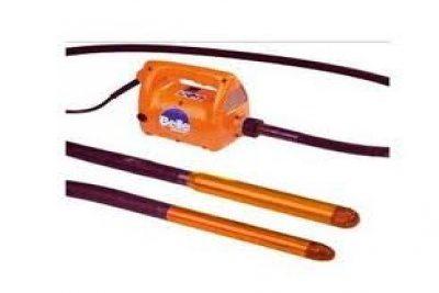Глубинный электровибратор для раствора.
