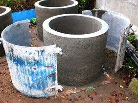 Готовые бетонные кольца